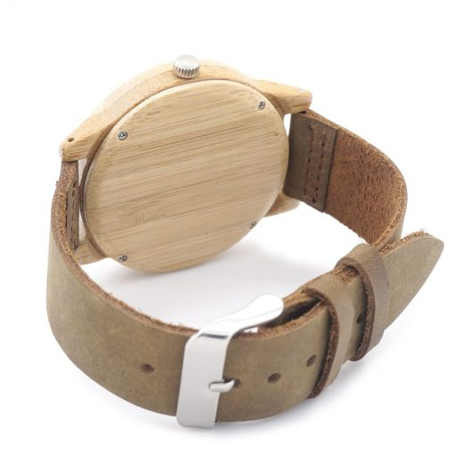 montre en bois bambou bracelet