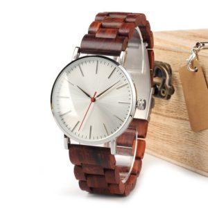 montre en bois classique