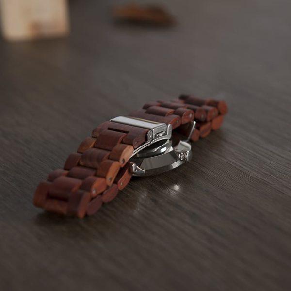 montre en bois classique bracelet
