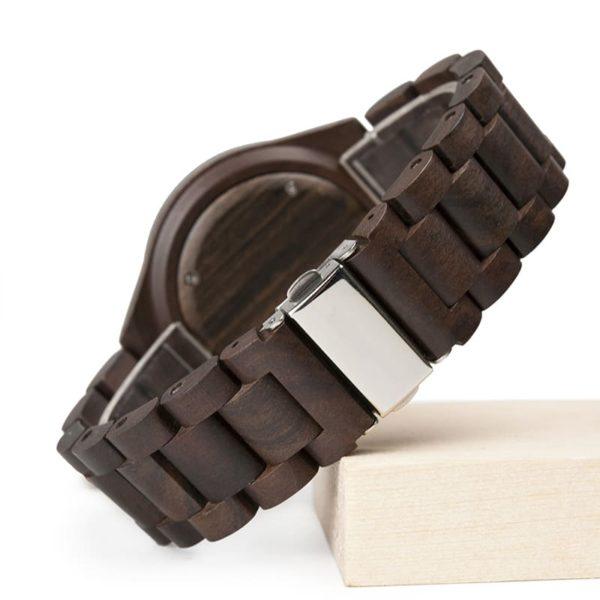 montre en bois luxe moderne bracelet