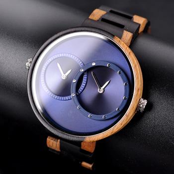 montres en bois luxe