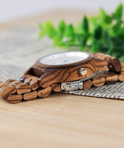 montre en bois contemporaine bambou photo