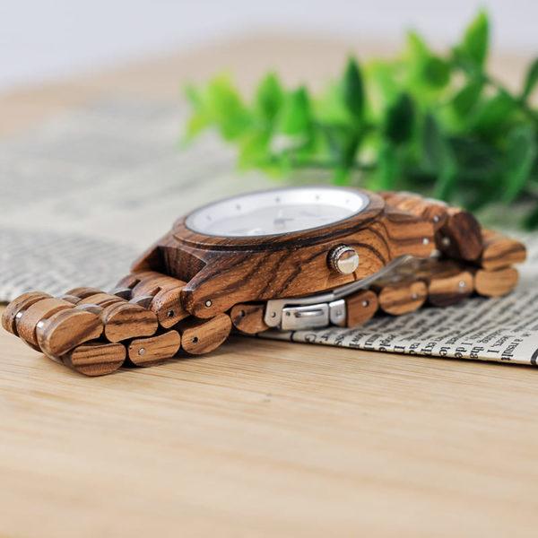montre en bois contemporaine bambou photo