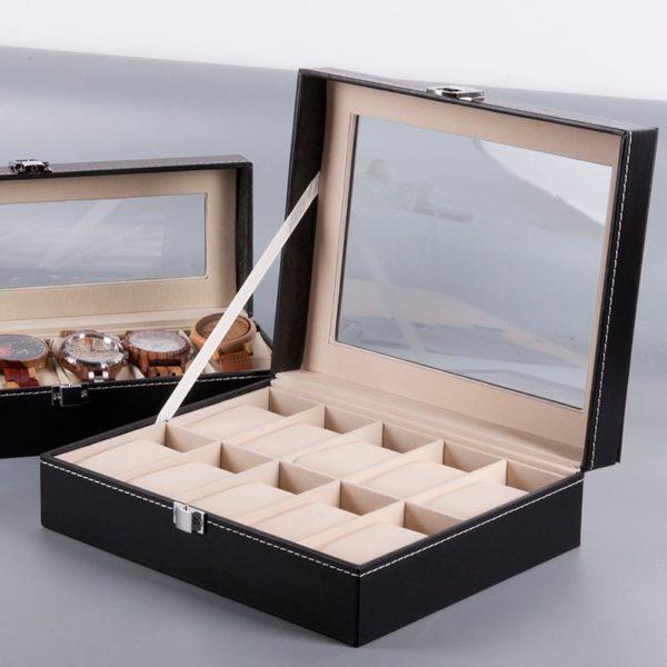 rangement montres en bois 10 pieces