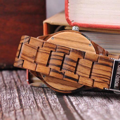 montre bois epicia bracelet bois
