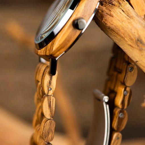 montre bois reluga bracelet