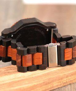 montre bois rictus bracelet