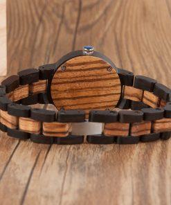 montre bois samsas femme bracelet