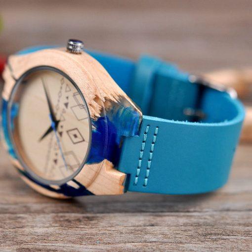 montre bois solar bracelet