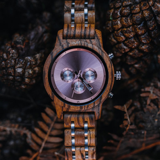 montre en bois luxeor femme eco friendly