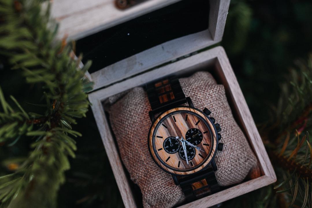montre en bois ecologique
