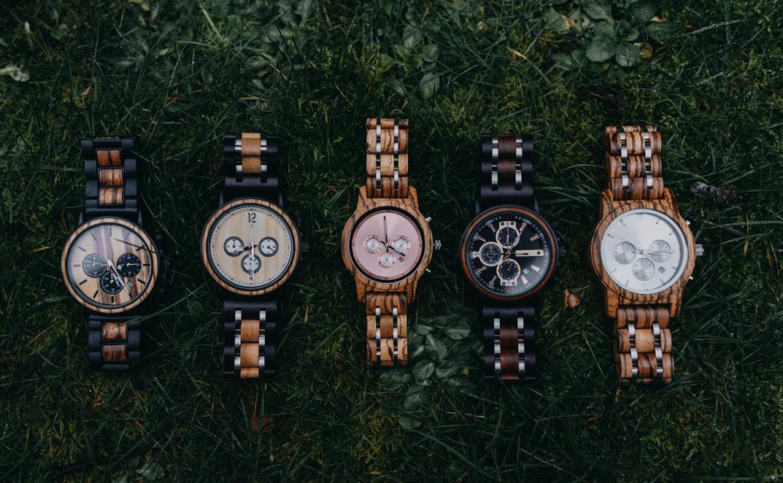 montres en bois haut de gamme