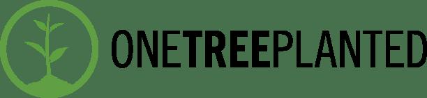 OneTreePlanted logo reforestation arbre planter