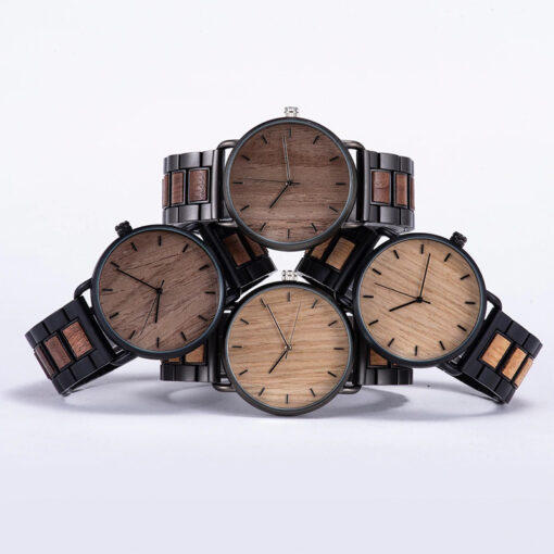montre en bois gamme nordic