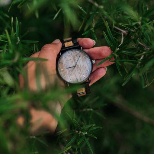 montre en bois nordic bois chene