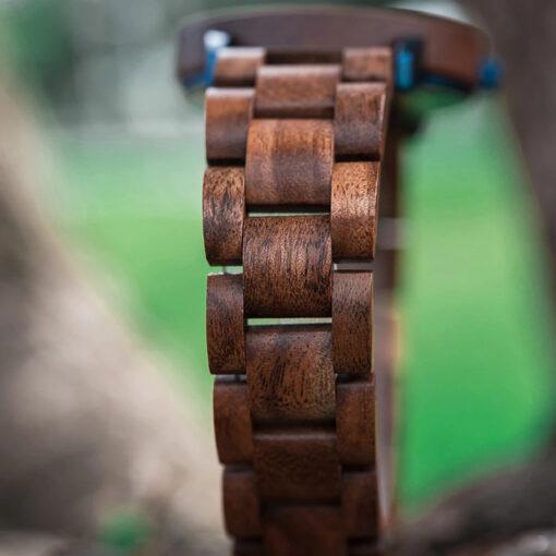 montre en bois unisexe artic acacia bracelet