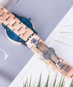 montre en bois unisexe artic erable bracelet