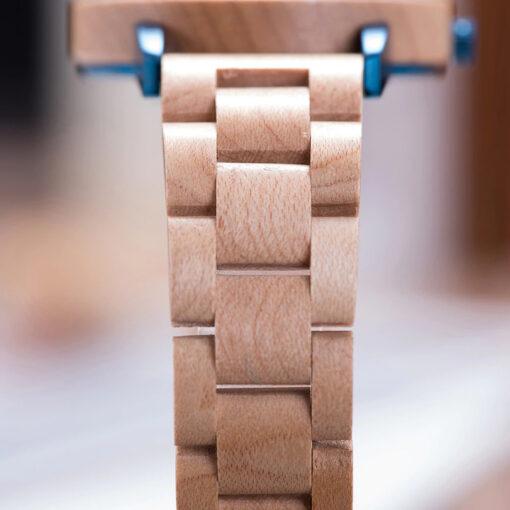 montre en bois unisexe artic erable premium